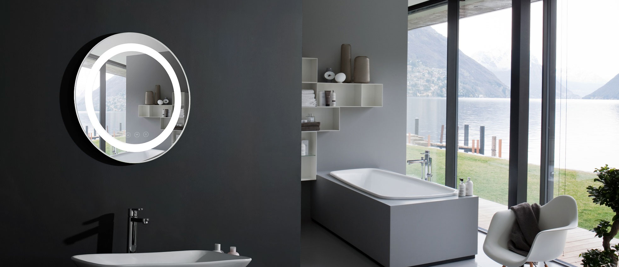 contemporist ideas large wall whole mirror the bathroom fill